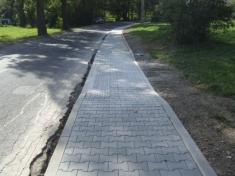 Foto rekonstrukce chodníku